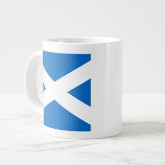 Colores cruzados escoceses de Escocia Taza Grande