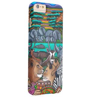 Colores de África Iphone 6+ Caso Funda De iPhone 6 Plus Barely There