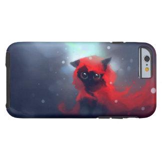 Colores de agua de la capa con capucha funda resistente iPhone 6