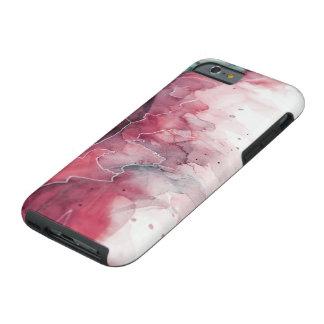 Colores de agua del derretimiento funda resistente iPhone 6