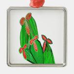 Colores de agua verdes del tema - cactus del CACTU Ornamentos De Reyes