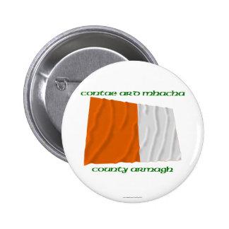 Colores de Armagh del condado Pins