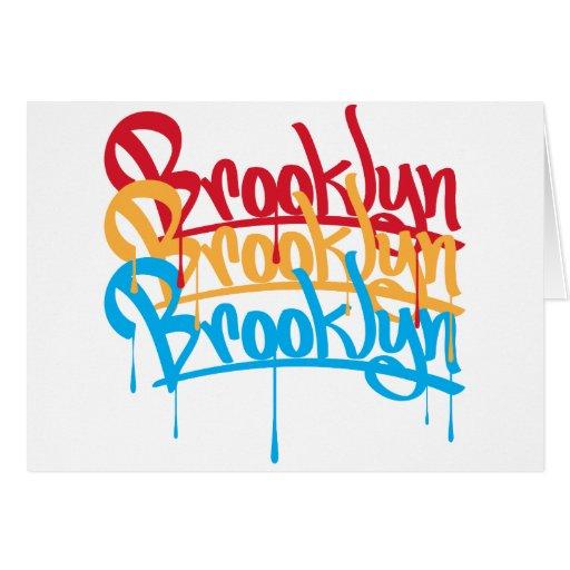 Colores de Brooklyn Felicitaciones