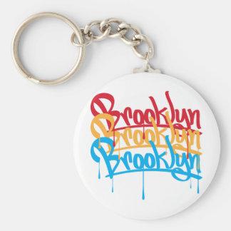 Colores de Brooklyn Llavero Personalizado