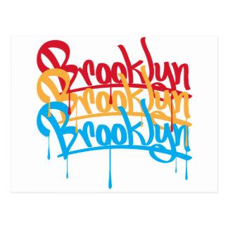 Colores de Brooklyn Postal