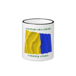 Colores de Clare del condado Tazas De Café