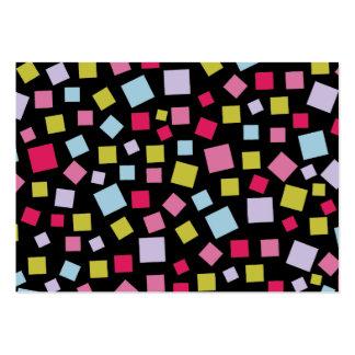 Colores de conexión en cascada II Plantilla De Tarjeta De Visita