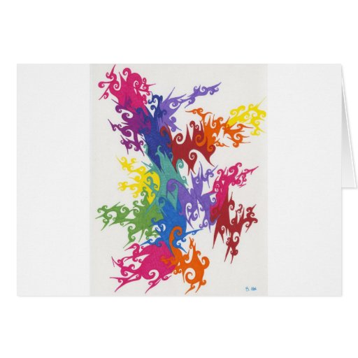 Colores de CrazyFighting Felicitación