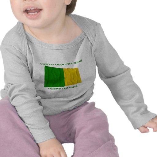 Colores de Donegal del condado Camisetas