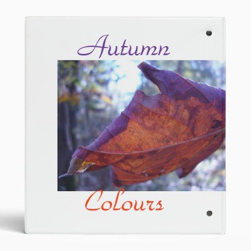 colores de fascinación del otoño