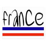 ¡Colores de Francia! Postal