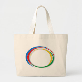 Colores de Google Bolsa Tela Grande