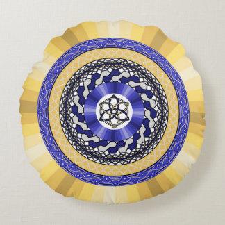 Colores de la almohada redonda de los Años Nuevos