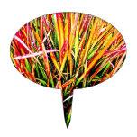 Colores de la Alto-Hierba Decoración De Tarta