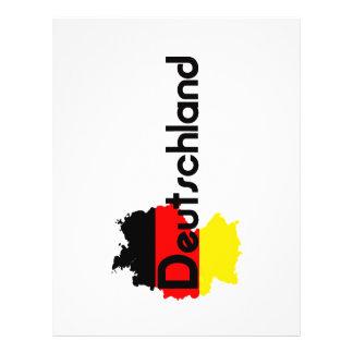 ¡Colores de la bandera de Deutschland! Flyer Personalizado
