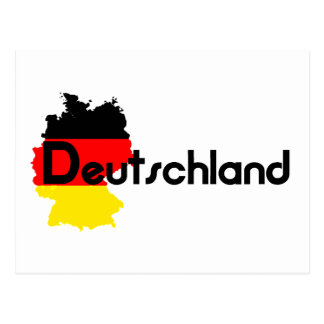 ¡Colores de la bandera de Deutschland Postal