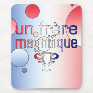 Colores de la bandera de la O.N.U Frère Magnifique Tapete De Raton