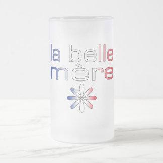Colores de la bandera de Mère Francia de la bellez Taza