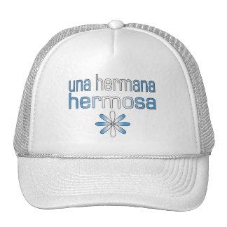 Colores de la bandera de Una Hermana Hermosa Guate Gorra