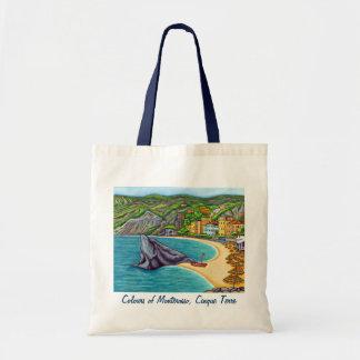 Colores de la bolsa de asas de Monterosso