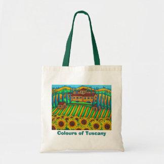 Colores de la bolsa de asas de Toscana