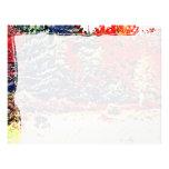 Colores de la caída en Nueva Inglaterra Membrete Personalizado