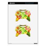 """""""Colores de la caída """" Mando Xbox 360 Skin"""