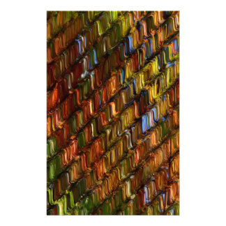 Colores de la caída papelería personalizada