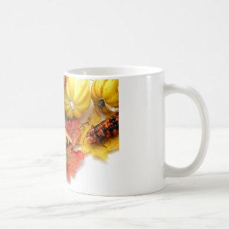 Colores de la caída taza de café
