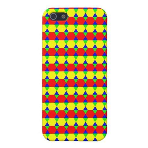 Colores de la cosecha del maleficio iPhone 5 cárcasa