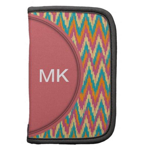 colores de la especia del diseño del zigzag del iK Organizadores