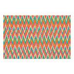 colores de la especia del diseño del zigzag del iK Papeleria De Diseño