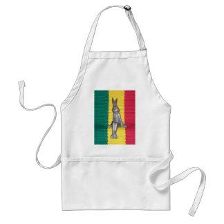 Colores de la gloria de Kingston Jamaica del Delantal