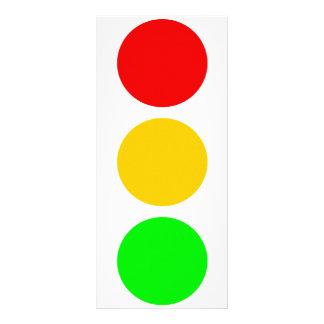 Colores de la luz de parada tarjetas publicitarias personalizadas
