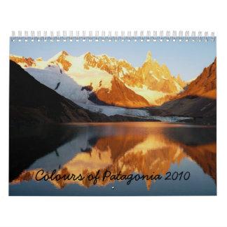 Colores de la Patagonia 2010 Calendarios De Pared