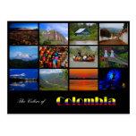 Colores de la postal de Colombia