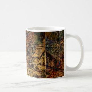 Colores de la postal taza clásica