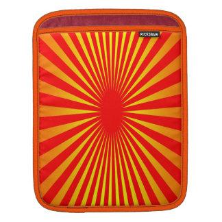 Colores de la puesta del sol funda para iPads