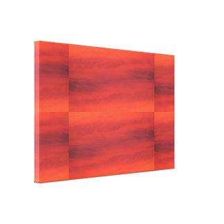 Colores de la puesta del sol SDL Lienzo Envuelto Para Galerias