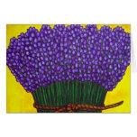 Colores de la tarjeta de nota de Provence (cosecha