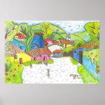 Colores de mi país (Honduras - 8-11) Póster