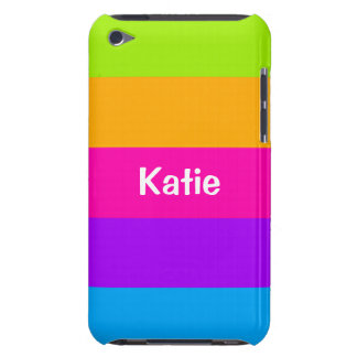 Colores de neón fluorescentes conocidos personaliz barely there iPod cárcasas