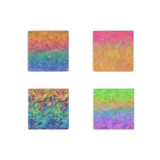 Colores de piedra del líquido del imán imán de piedra