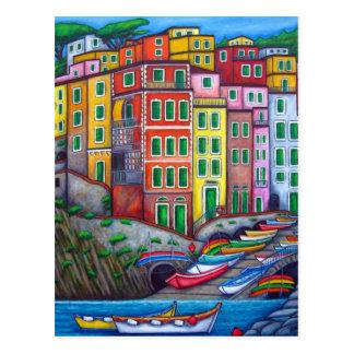 Colores de Riomaggiore, postal de Cinque Terre