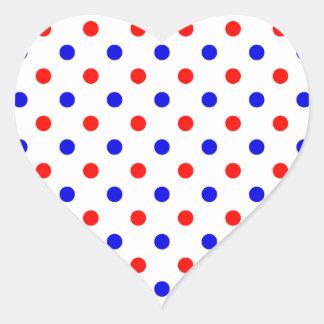 Colores de Saxonian Pegatina En Forma De Corazón