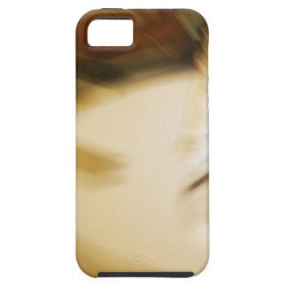 Colores de tono abstractos de la tierra del modelo funda para iPhone SE/5/5s