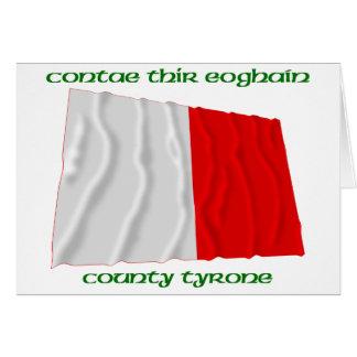 Colores de Tyrone del condado Tarjeta De Felicitación