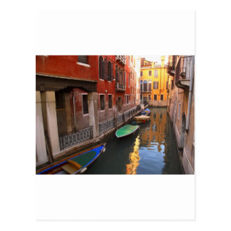 Colores de Venecia, Italia Tarjetas Postales
