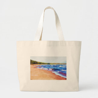 Colores del agua bolsa tela grande