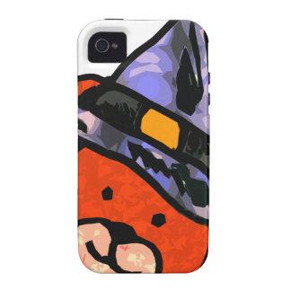 Colores del alt de la bruja del oso iPhone 4 carcasas